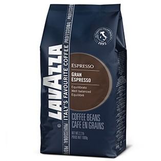 Lavazza Gran Espresso 1 kg zrnková káva zrnková káva