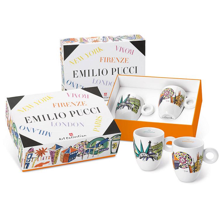 illy EMILIO PUCCI 2 x mug šálek