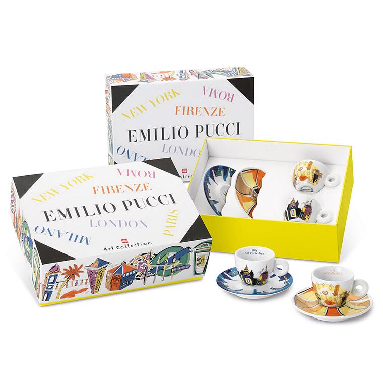 illy EMILIO PUCCI 2x espresso šálek