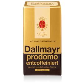 Dallmayr prodomo entcoffeiniert (bez kofeinu) mletá 500 g mletá káva