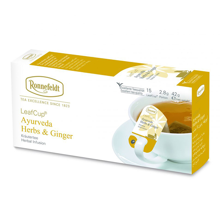 LeafCup Ayurveda Herbs & Ginger
