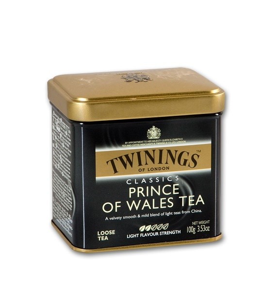 Twinings Prince of Wales 100g plech
