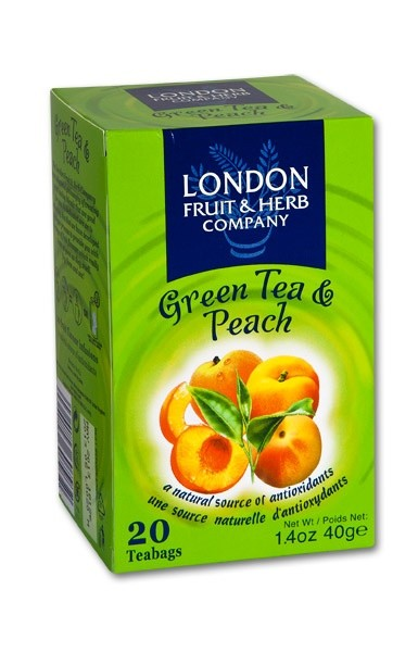 LONDON Green tea peach