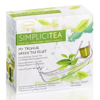 SIMPLICITEA My Tropical Green Tea Float