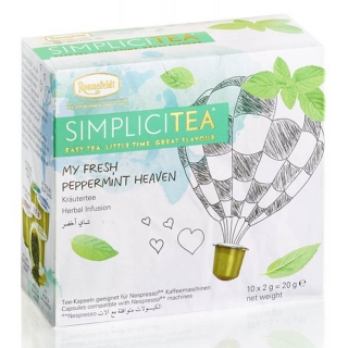 SIMPLICITEA My Fresh Peppermint Heaven