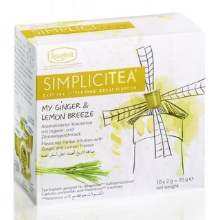 SIMPLICITEA My Ginger & Lemon Breeze