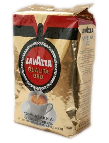Lavazza Qualita Oro - zrnková káva 1 kg zrnková káva