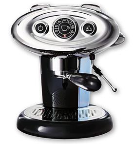 Kávovar Francis Francis X7 - černý kávovar na kapsle