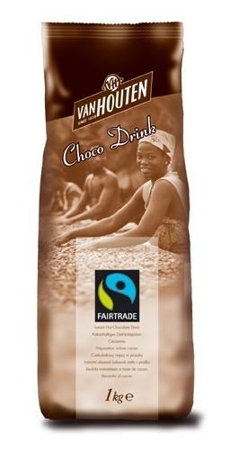 Van Houten Fairtrade Horká čokoláda 1 kg