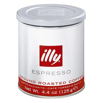 illy Mletá káva 125 g