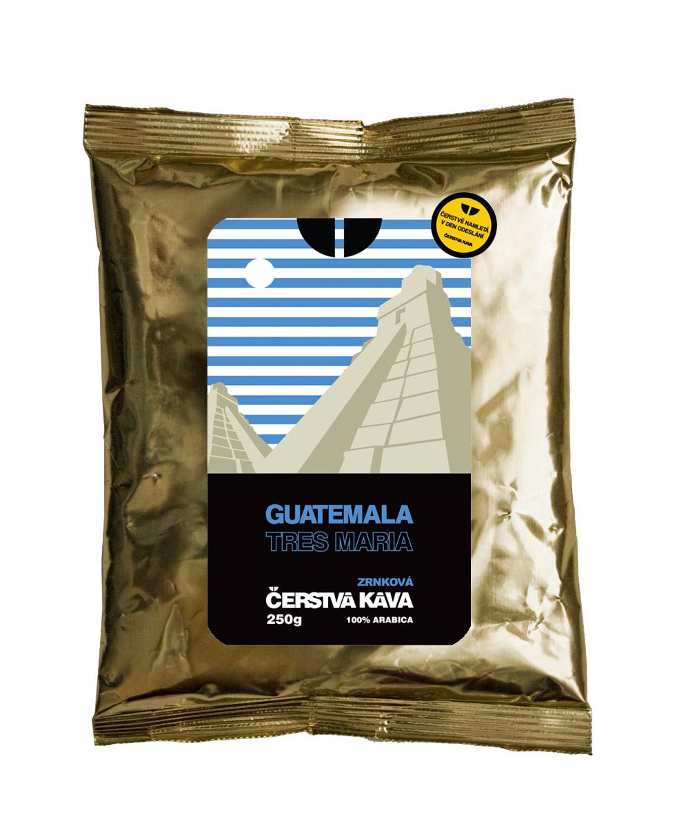 Káva Guatemala Tres Maria, mletá 250 g- sáček