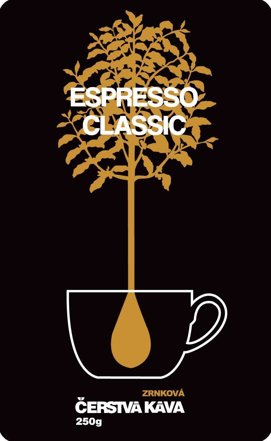Káva Espresso Classic, mletá - sáček 250 g