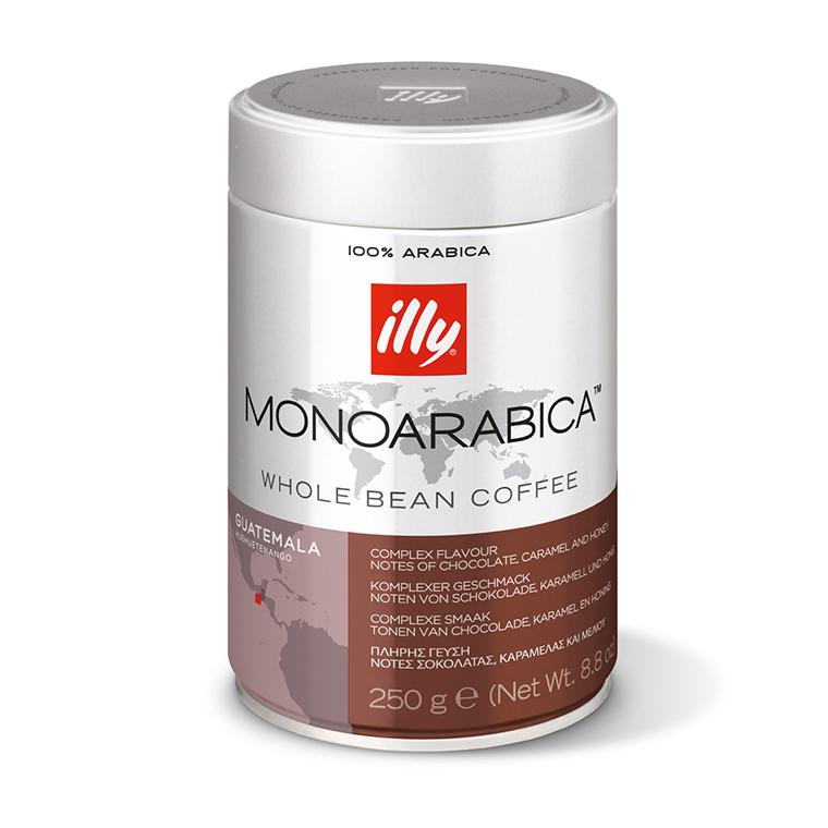 Zrnková káva illy 250 g – Monoarabica Guatemala