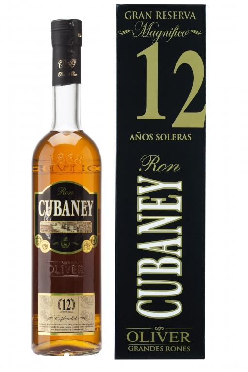 Cubaney Gran Reserva 12 Años Dárkové balení v krabičce.