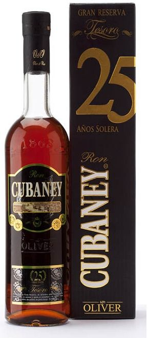 Cubaney Tesoro 25 Aňos Dárkové balení v krabičce.